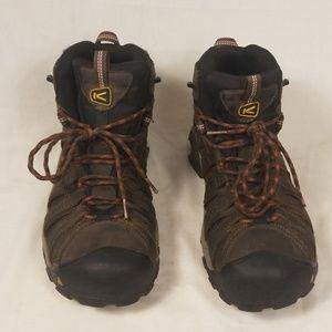 Men's Keen Hiking Work Steal Toe Boots